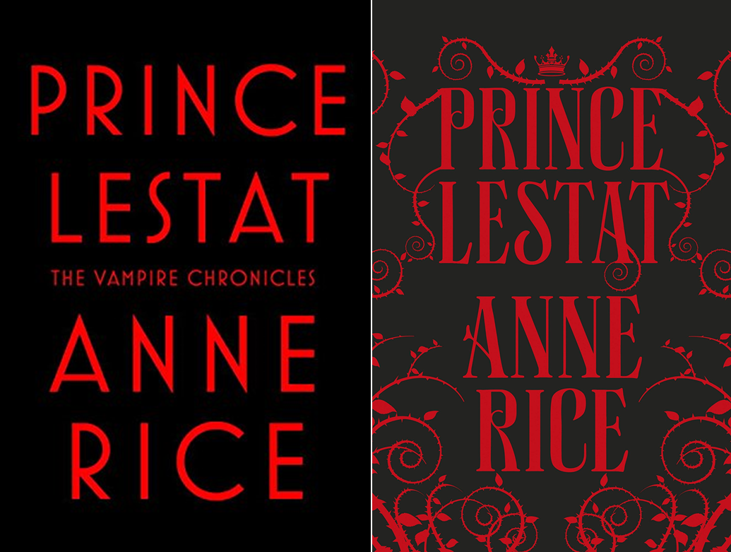 Prince Lestat -- US and UK HB covers