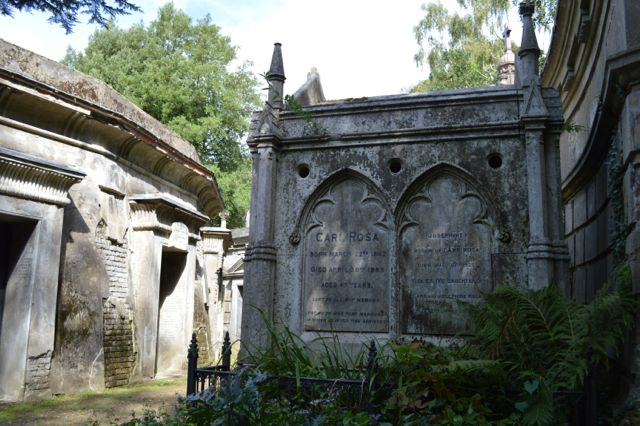 Almost missed it! Charles Fisher Wace 1872 tomb.