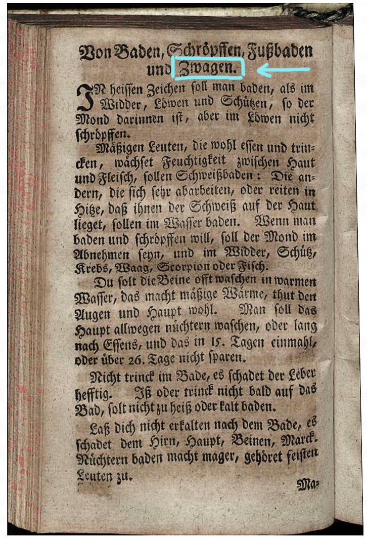 Fragment from Peter Creußiger